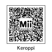 QR Code for Keroppi by Dan