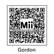 QR Code for Gordon Brown by D. Maria