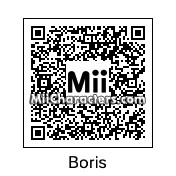 QR Code for Boris Johnson by Peachy Pie