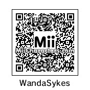QR Code for Wanda Sykes by Double *