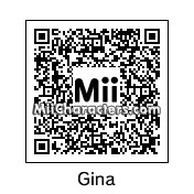 QR Code for Gina Carano by Jessii