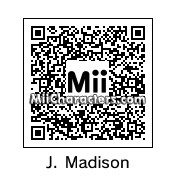 QR Code for James Madison by Dr. Evil