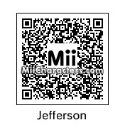 QR Code for Thomas Jefferson by Dr. Evil