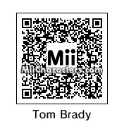 QR Code for Tom Brady by Ms. Figaro