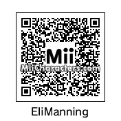 QR Code for Eli Manning by Alien