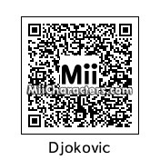 QR Code for Novak Djokovic by Tuoppi
