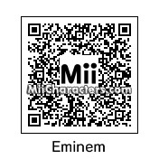 QR Code for Eminem by Kam