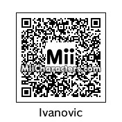 QR Code for Ana Ivanovic by Djo