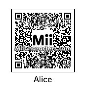 QR Code for Alice by Audrey