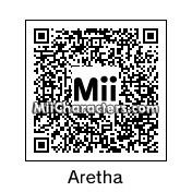QR Code for Aretha Franklin by Dan