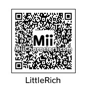 QR Code for Little Richard by J.J. ARC