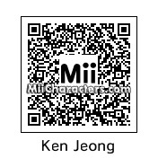 QR Code for Ken Jeong by Dann