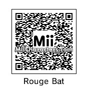 QR Code for Rouge The Bat by Soulcyc