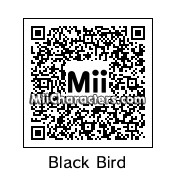 QR Code for Black Angry Bird by NuCreat