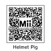 QR Code for Helmet Pig by *AngryFan*