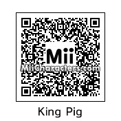 QR Code for King Pig by *AngryFan*