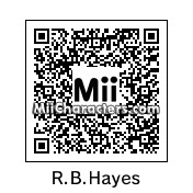 QR Code for Rutherford B. Hayes by Russnoob