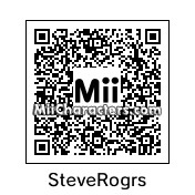 QR Code for Steve Rogers by lorenzo