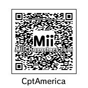 QR Code for Captain America by Ryan
