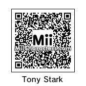 QR Code for Tony Stark by jr.