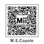 QR Code for Wile E. Coyote by LYJ12
