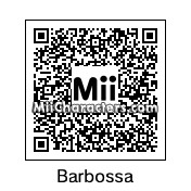 QR Code for Captain Hector Barbossa by Günter