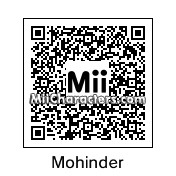 QR Code for Mohinder Suresh by rababob