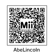 QR Code for Abraham Lincoln by Midna