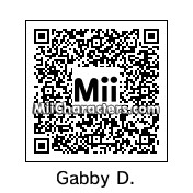 QR Code for Gabby Douglas by Padma
