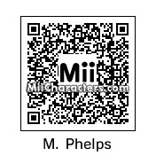 QR Code for Michael Phelps by Beba<3