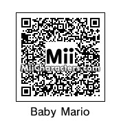 QR Code for Baby Mario by Luigi