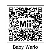 QR Code for Baby Wario by Luigi