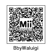 QR Code for Baby Waluigi by Luigi