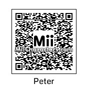 QR Code for Peter Petrelli by rababob