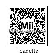 QR Code for Toadette by Mario