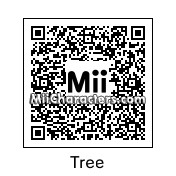 QR Code for Tree by Gold Skull