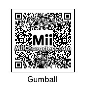 QR Code for Gumball Watterson by Keyona