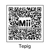 QR Code for Tepig by Wario Kong