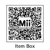 QR Code for Item Box by Moi