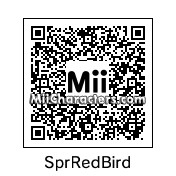 QR Code for Super Red Bird by BadPigSupr