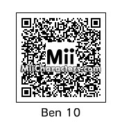 QR Code for Ben Tennyson by Garrett