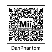 QR Code for Danny Phantom by Toon and Anime