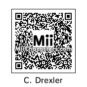 QR Code for Clyde Drexler by Ajay