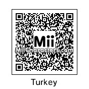 QR Code for Turkey by Uilskuiken