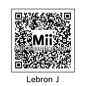 QR Code for Lebron James by Ajay