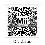 QR Code for Dr. Zaius by Henri