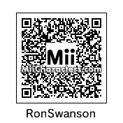 QR Code for Ron Swanson by Ood