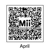 QR Code for April Ludgate by Ood