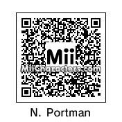 QR Code for Natalie Portman by Ajay
