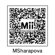 QR Code for Maria Sharapova by Tocci
